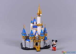 review 40478 mini disney castle
