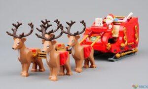 review 40499 santas sleigh