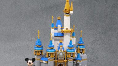 review lego 40478 mini disney castle