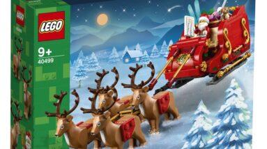 review lego 40499 santas sleigh