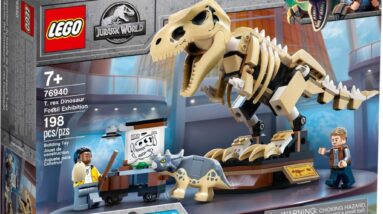 review lego 76940 t rex dinosaur fossil exhibition