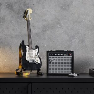 rock out with the lego 21329 ideas fender stratocaster