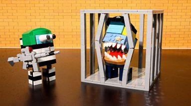 Lego Cheese Potato Tacos - Pop IT vs CREWMATES   Animation Stop Motion Cooking ASMR