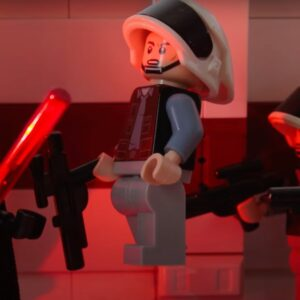 see lego darth vader recreate epic rogue one a star wars story scene