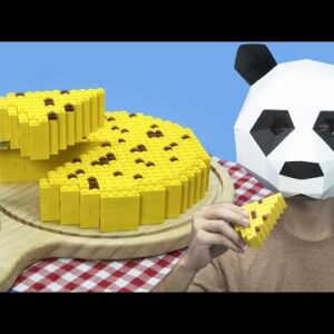Stop Motion Cooking / Lego CHEESE / Lego In Real Life / ASMR