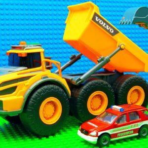 Super Dumper Trucks Forklift Roller Grader