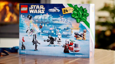 the lego star wars 2021 advent calendar is already sold out online