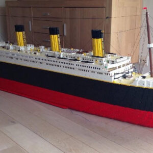 the rumoured lego titanic could include over 12000 bricks