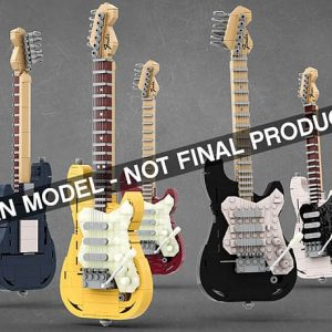 thoughts on the lego ideas fender stratocaster