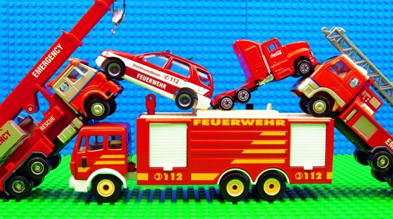 Truck SUV Pickup Fire Truck Giant Pit