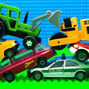 Trucks Tractor Forklift Dump Truck Bulldozer Racing