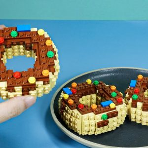 The Best Donuts In Lego - Lego In Real Life   Stop Motion Cooking & Funny Video
