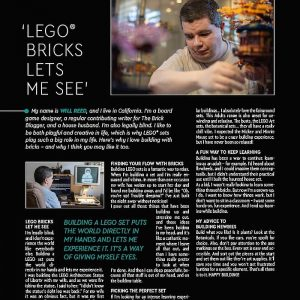 behind the scenes of making a lego ad