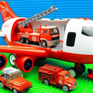 Big Plane Building Truck Crane Tractor Dump Truck