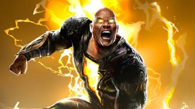 black adam first look trailer revealed at dc fandome