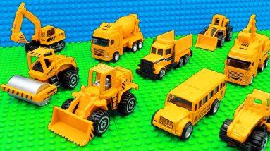 Building Ramp Trucks Bulldozer Mobile Crane