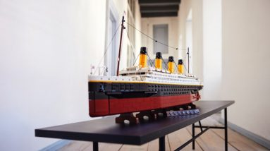 can the lego for adults 10294 titanic successfully float