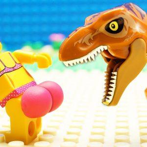 JURASSIC WORLD EVOLUTION Baby T-REX Dinosaurs SAFARI