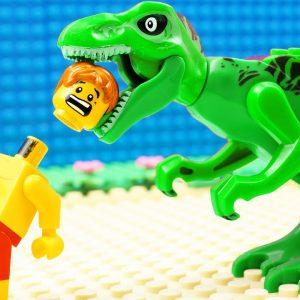 JURASSIC WORLD EVOLUTION Baby T-REX Dinosaurs vs HULK