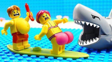 JURASSIC WORLD EVOLUTION T-REX FOOD Boat vs Shark
