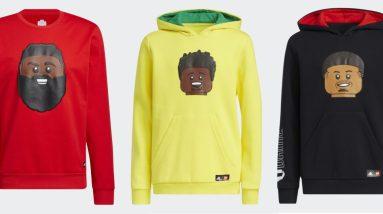 lego and adidas drop a lego basketball apparel collection