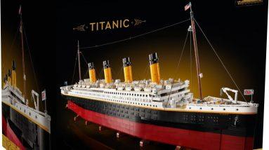 lego finally confirms creator expert titanic 10294