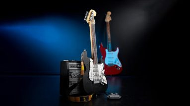 lego highlights fan designer of ideas 21329 fender stratocaster