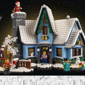 lego santas visit designer video holiday gift shop