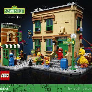 lego sesame street modular buildings more