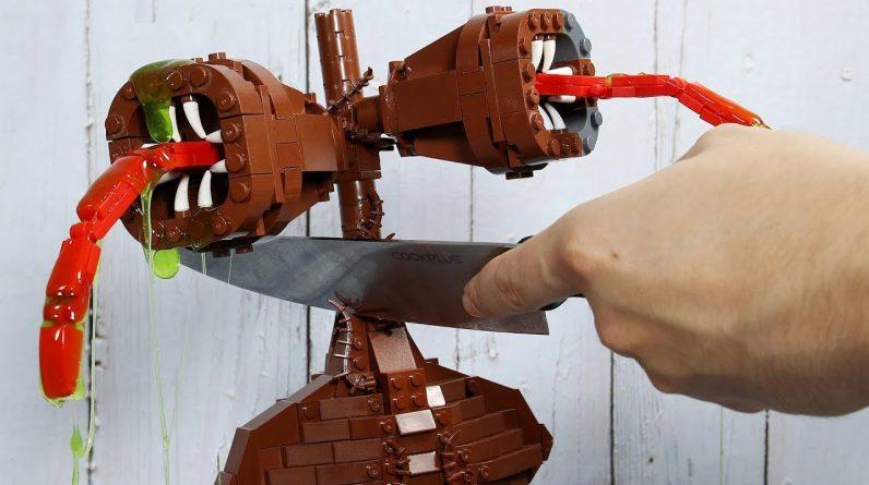 LEGO Siren Head vs. Real Life - Funny Stop Motion Animation ASMR / Satisfying Videos