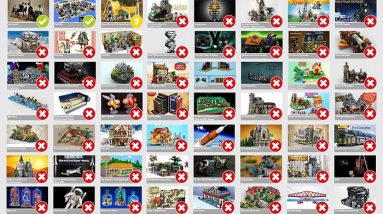 selected lego ideas projects upcoming sets