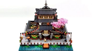 spacebrick54s the dojo gains 10 k support on lego ideas