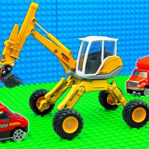 Super Crane Minibus Bulldozer Dump Truck Scooter