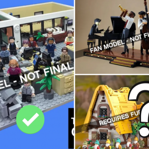 the office and jazz quartet to be turned into lego ideas sets