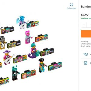 update lego bandmates series 2 shows up on legos online shop