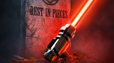 which films does lego star wars terrifying tales pay homage to